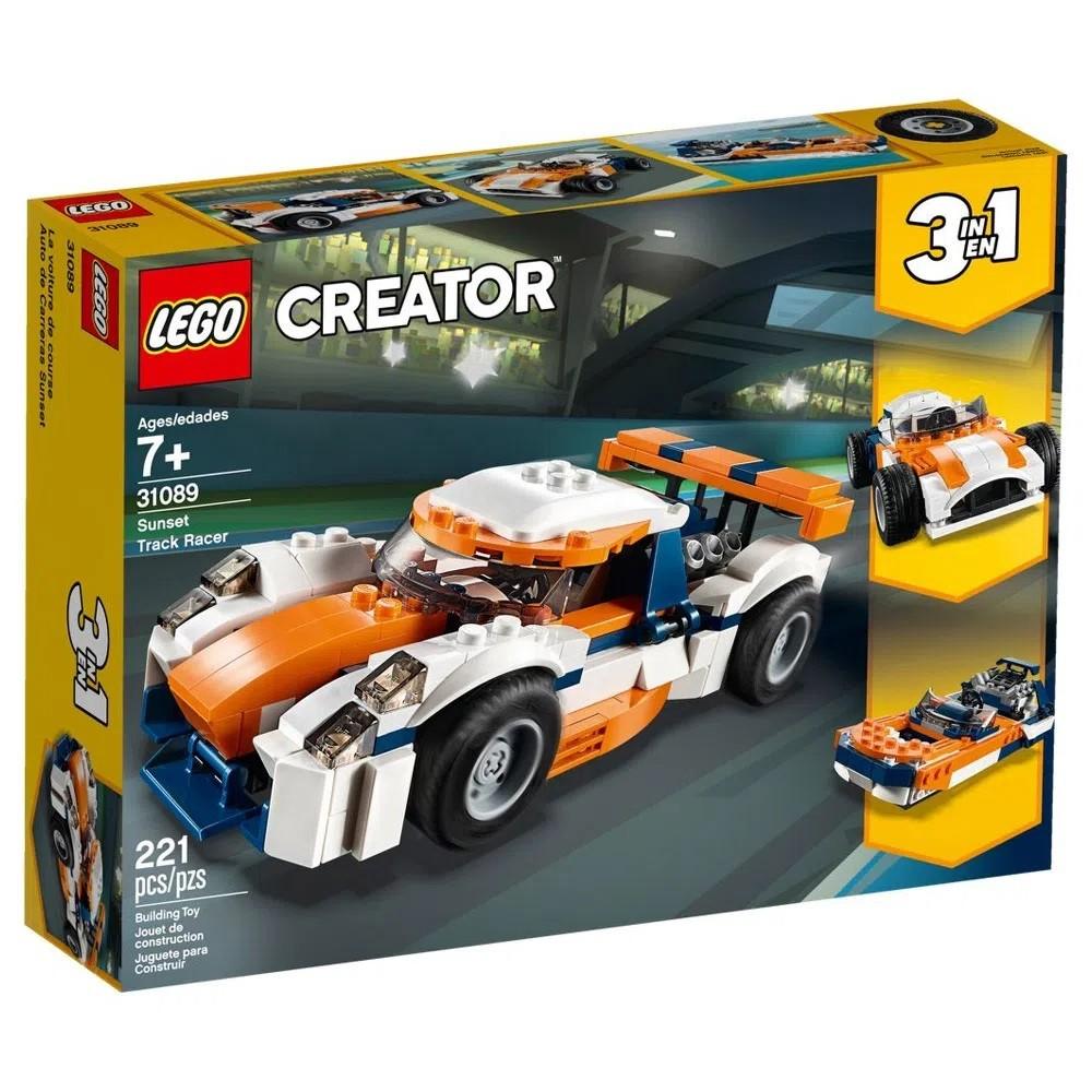 LEGO Creator - Modelo 3 Em 1: Piloto do Pôr do Sol (Sunset) 31089