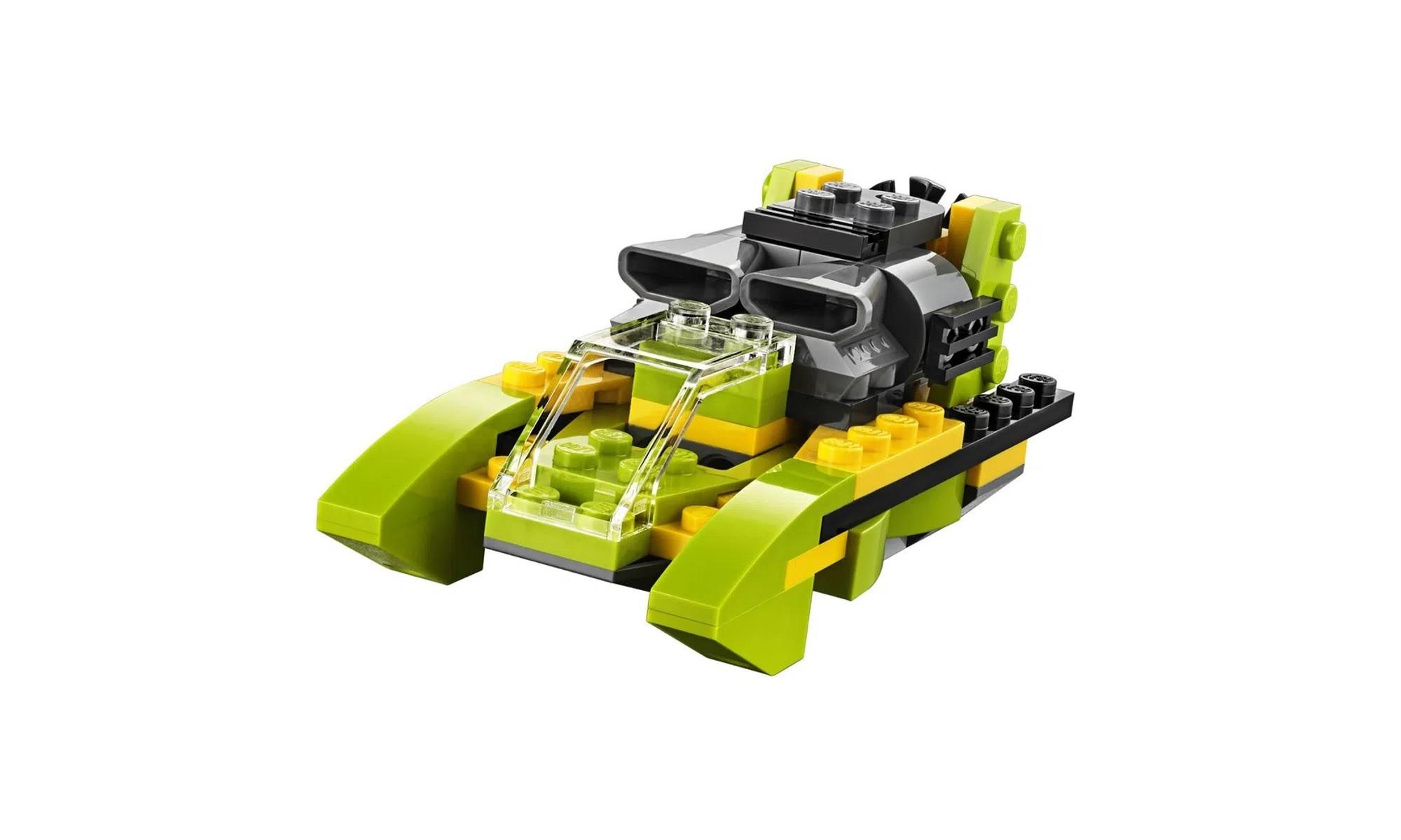 LEGO Creator - Modelo 3 Em 1: Velocidade no Céu e no Mar 31092