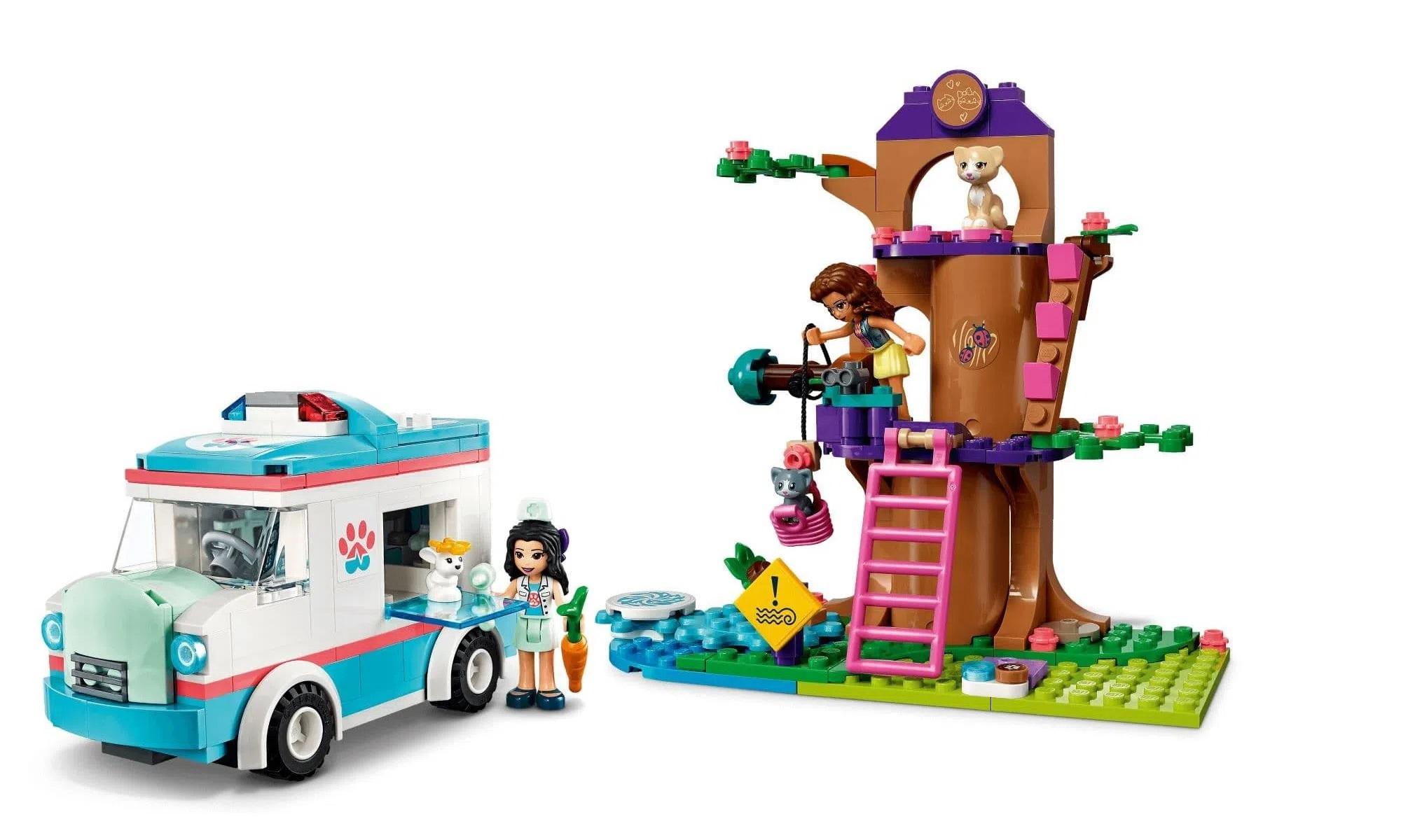 LEGO Friends - Ambulância da Clínica Veterinária 41445