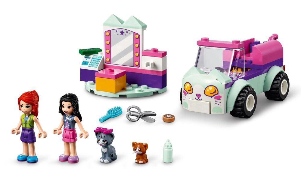 LEGO Friends - Cabeleireiro Móvel para Gatos 41439