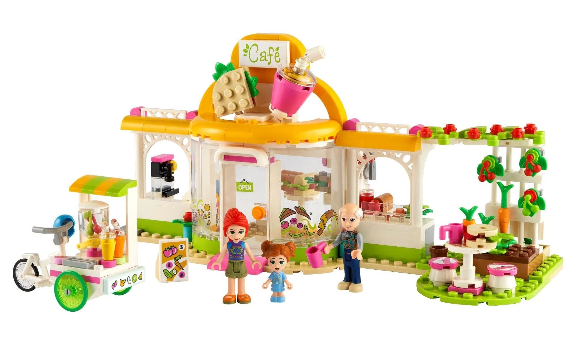 LEGO Friends - Café Orgânico de Heartlake City 41444