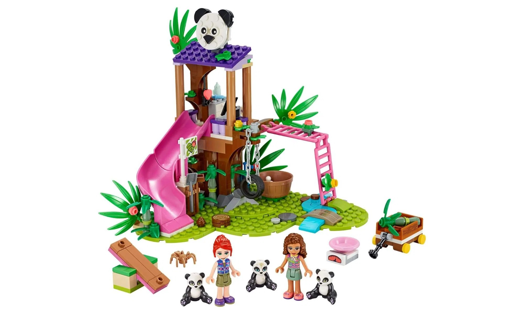 LEGO Friends - Casa do Panda na Arvore da Selva 41422