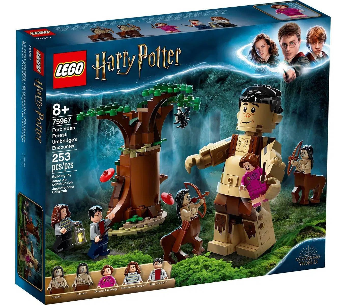 LEGO Harry Potter A Floresta Proibida: O Encontro de Grope e Umbridge 75967