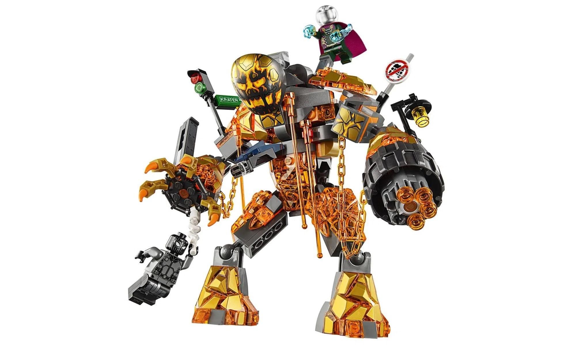LEGO Marvel Super Heroes - Batalha contra o Monstro de Fogo 76128