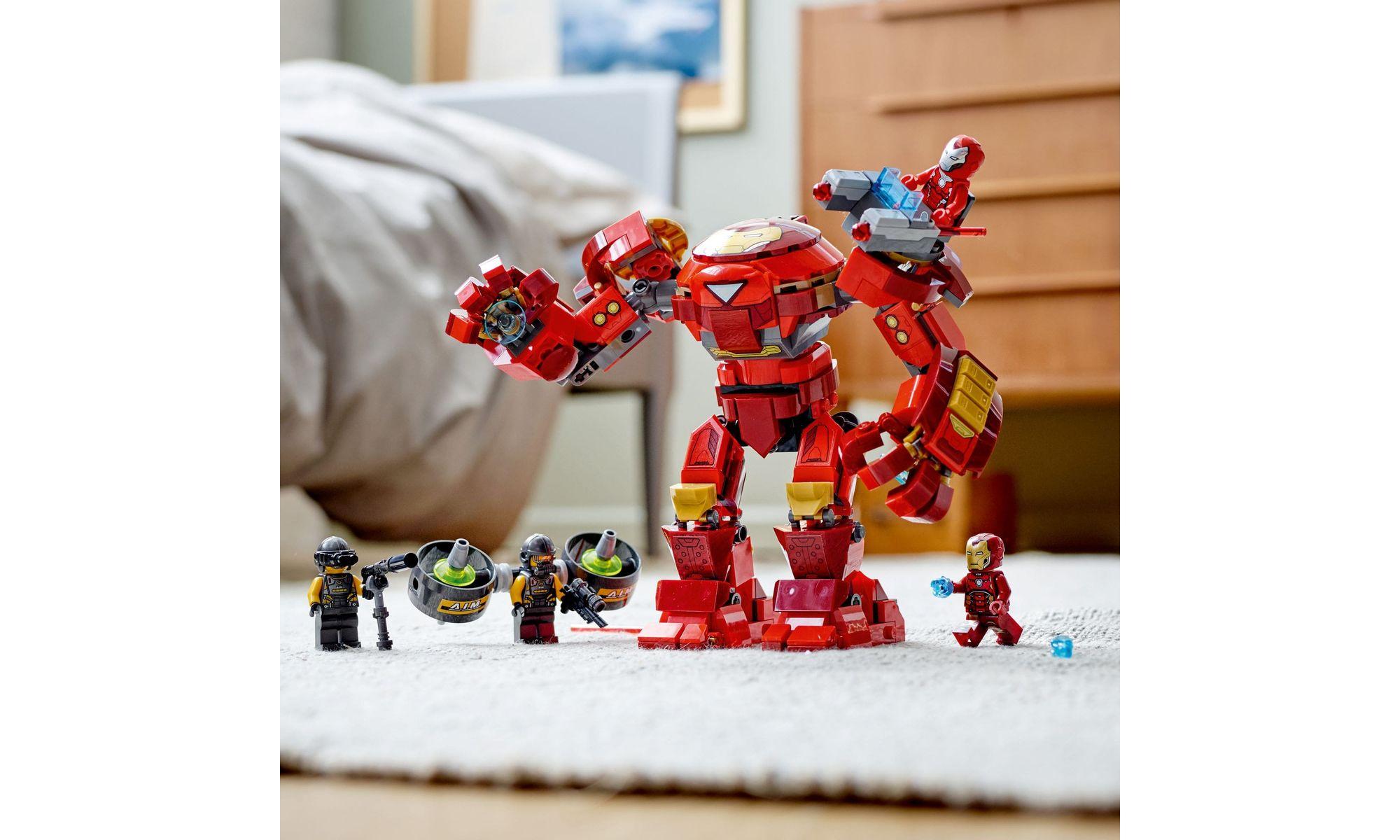 LEGO Marvel Super Heroes - Homem de Ferro Hulkbuster contra Agente A.I.M 76164