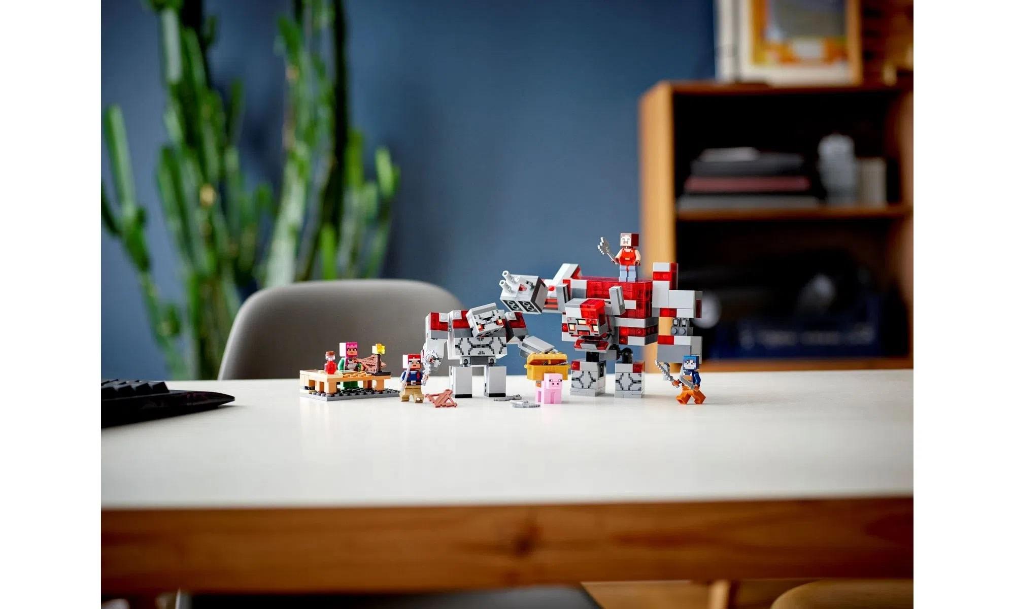 LEGO Minecraft A Batalha de Redstone 21163