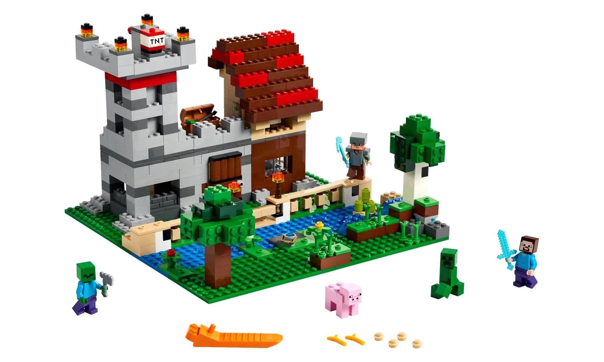 LEGO Minecraft A Caixa de Minecraft 3.0 21161