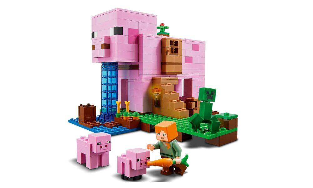 LEGO Minecraft - A Casa do Porco 21170