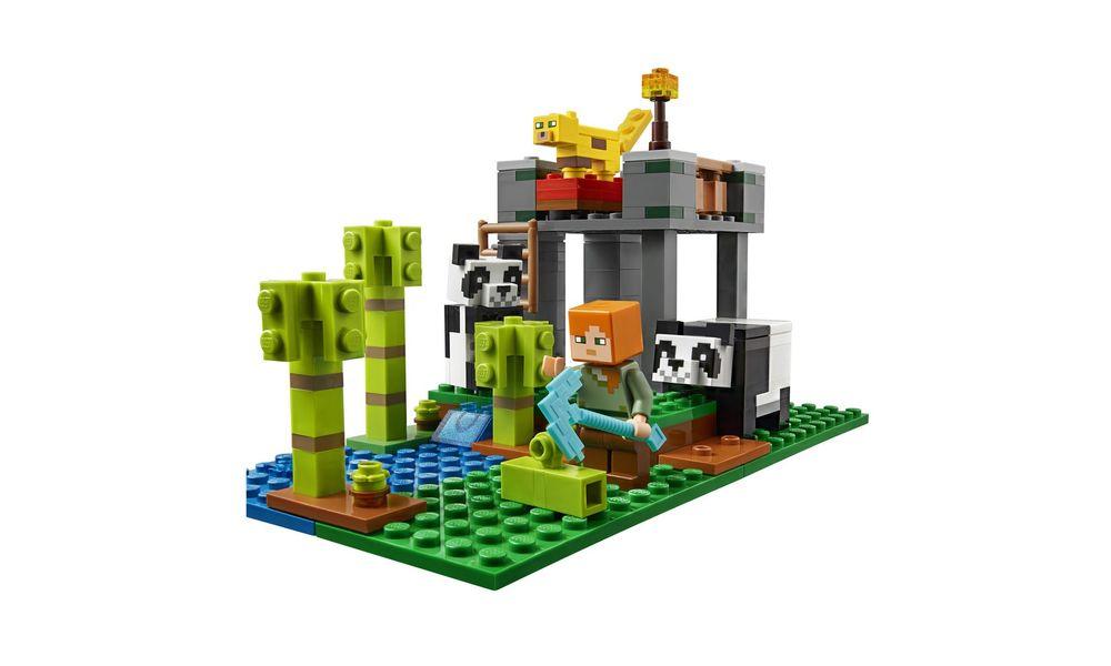 LEGO Minecraft - A Creche dos Pandas 21158