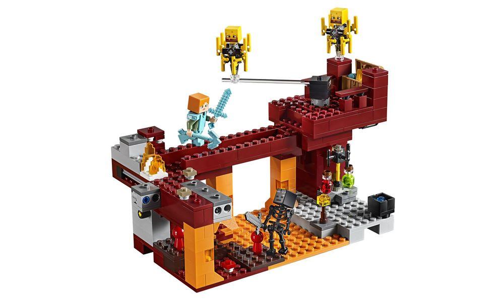 LEGO Minecraft - A Ponte Flamejante 21154