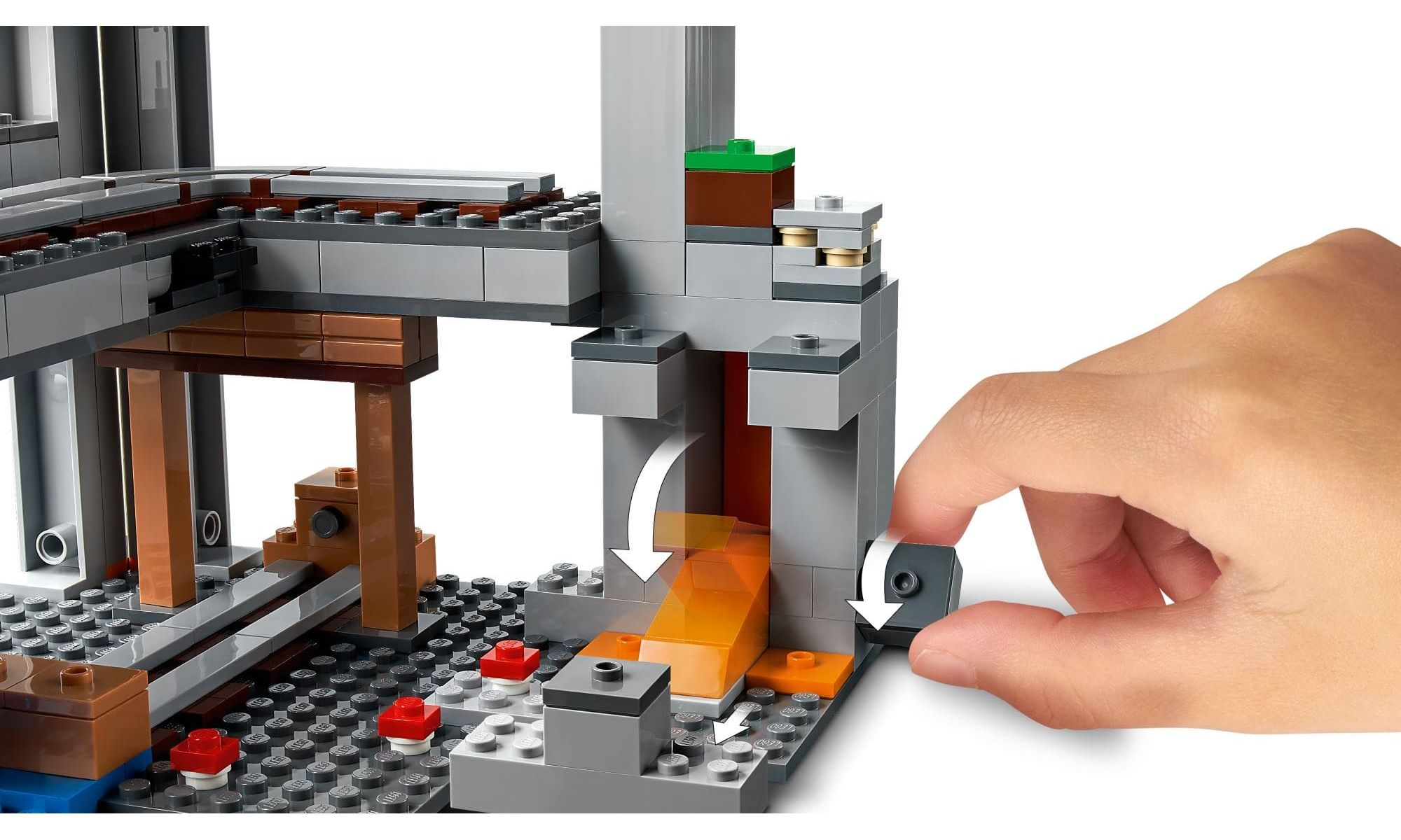 LEGO Minecraft - A Primeira Aventura 21169
