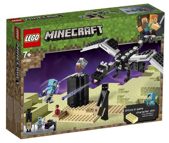 LEGO Minecraft - Batalha Final 21151