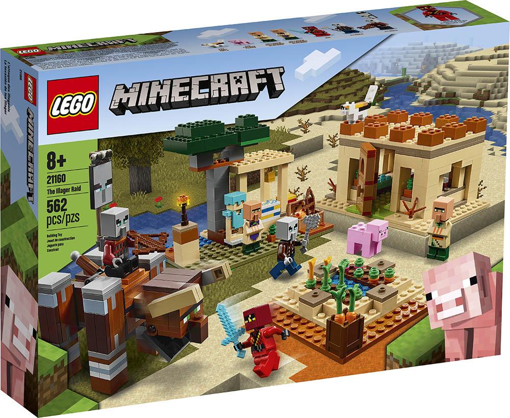 LEGO Minecraft O Ataque de Illager 21160