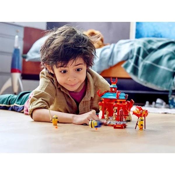 LEGO Minions - Combate De Kung Fu Dos Minions 75550