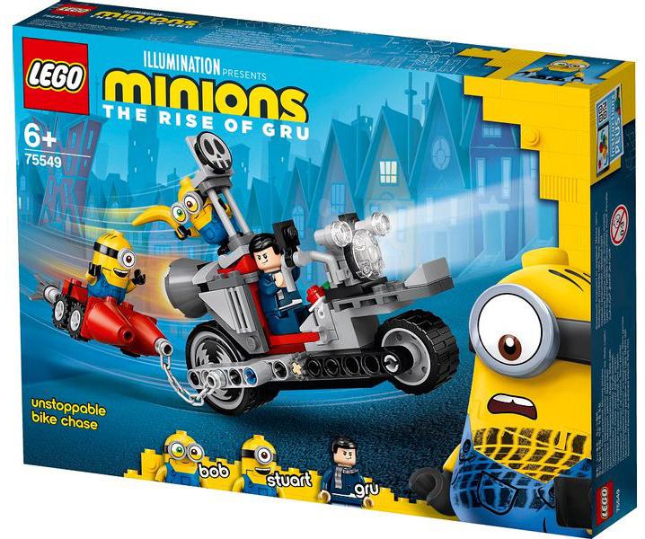 LEGO Minions - Perseguição de Moto sem fim 75549