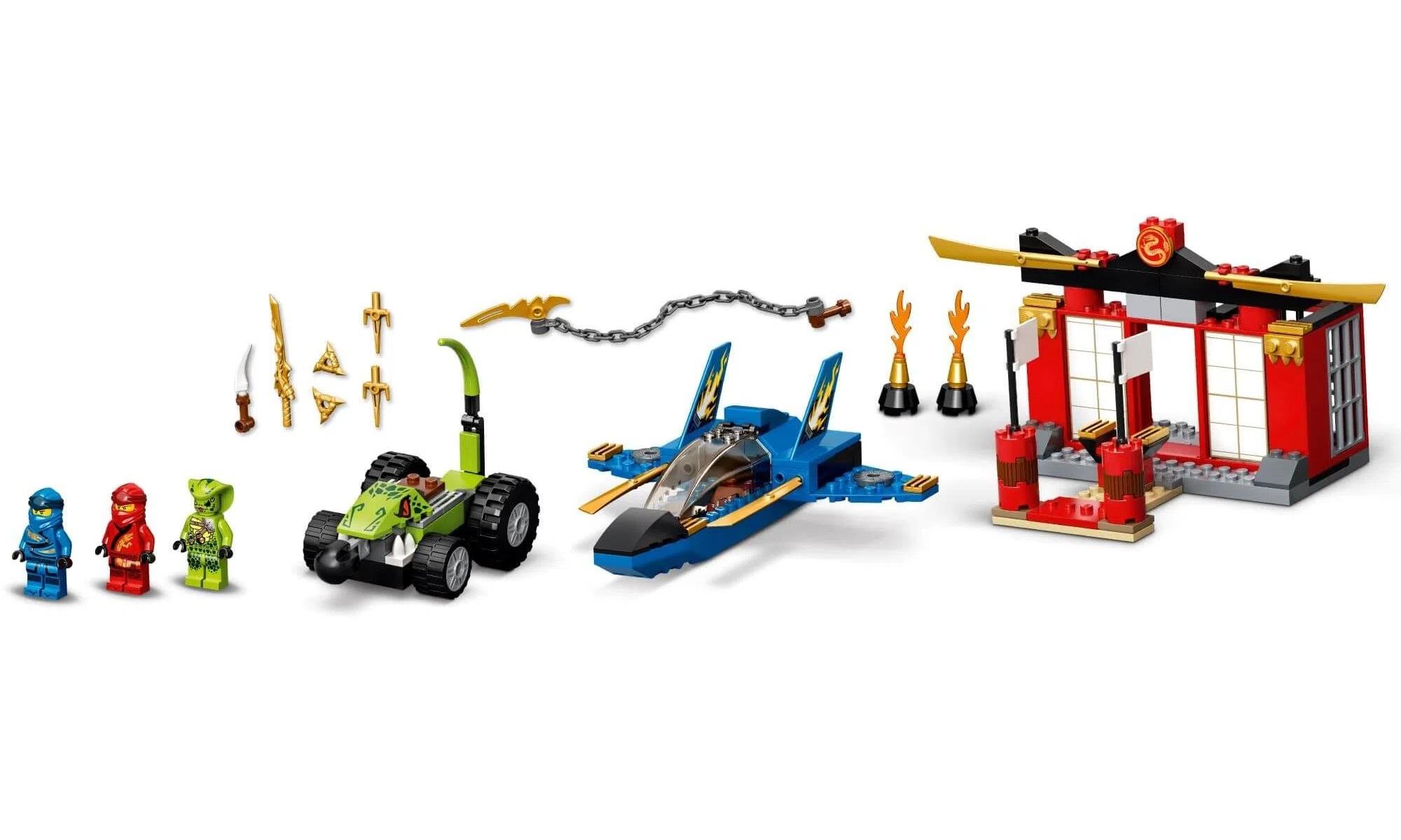 LEGO Ninjago Batalha Lutador da Tempestade 71703
