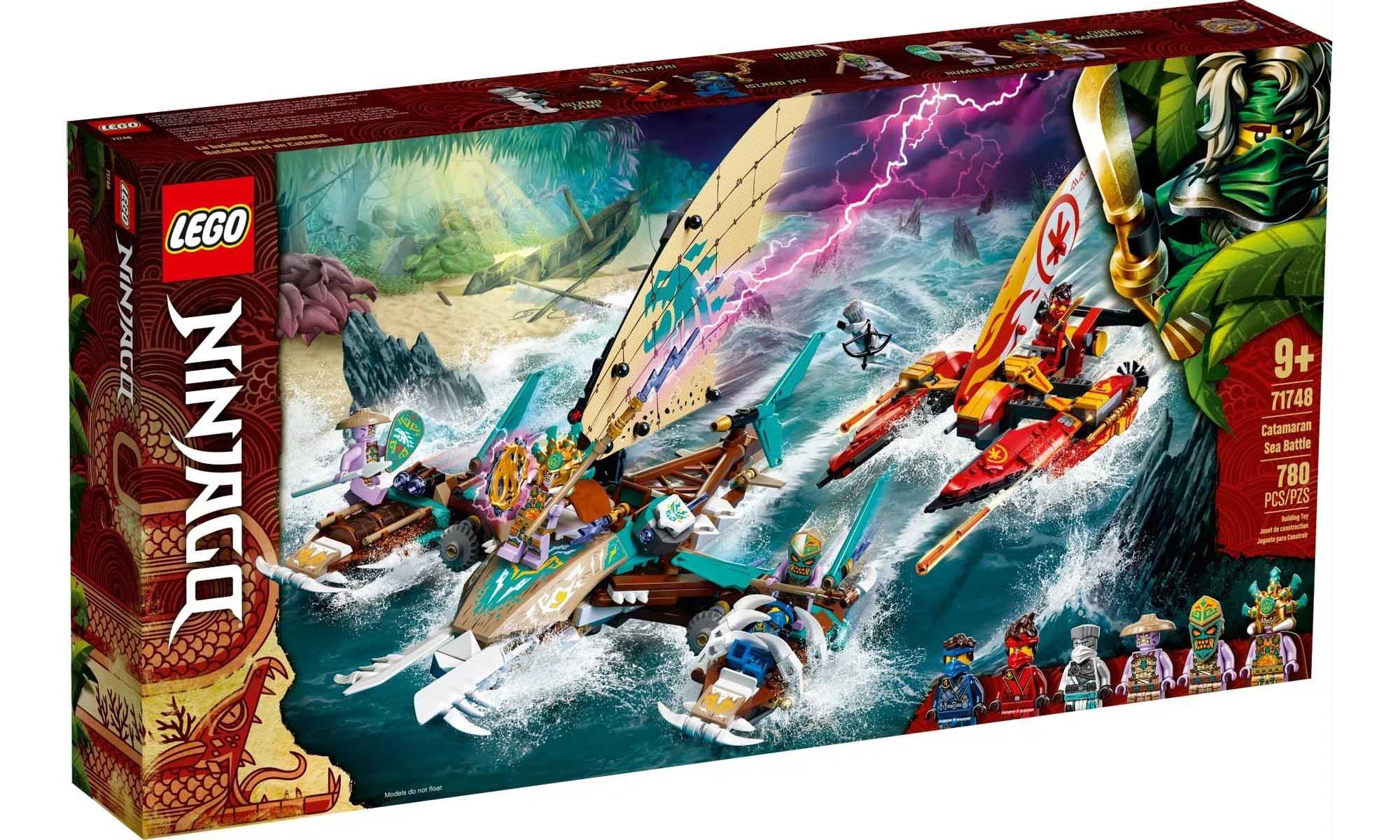 LEGO Ninjago - Combate Naval de Catamarã 71748