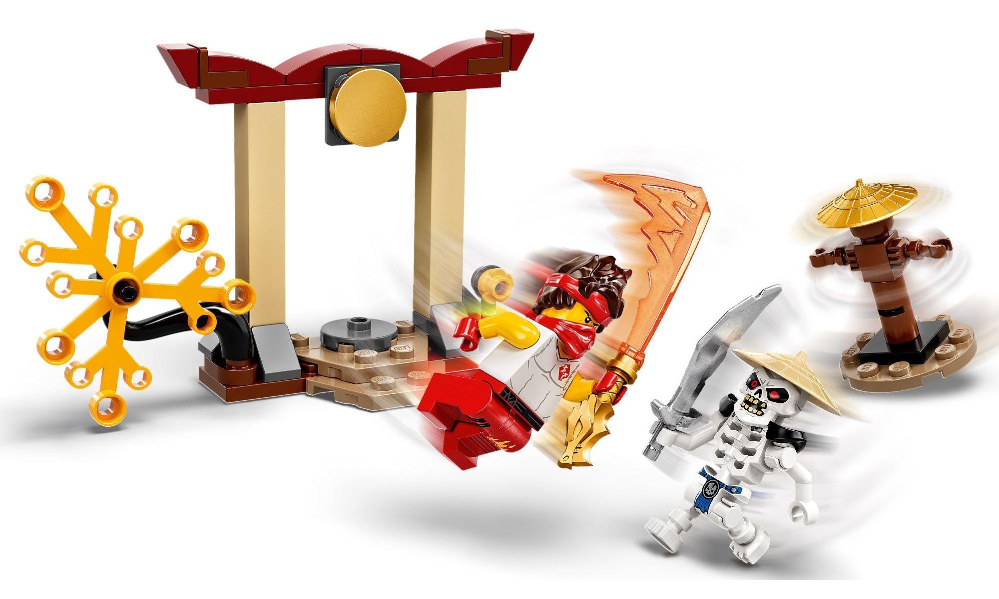 LEGO Ninjago - Conjunto de Combate Épico - Kai vs Skulkin 71730