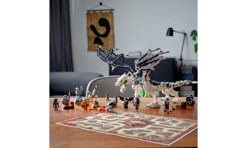 LEGO Ninjago - Dragão do Feiticeiro Caveira 71721