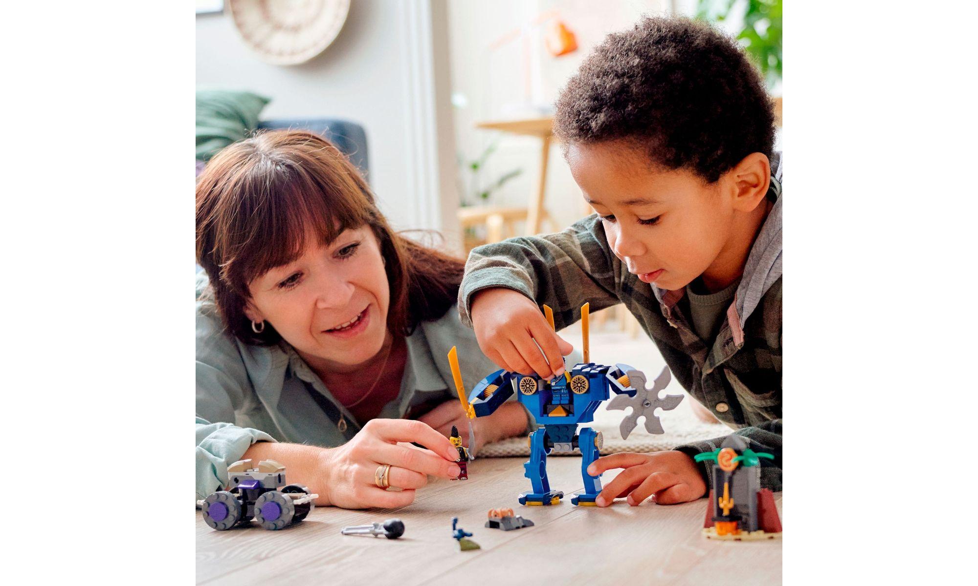 LEGO Ninjago - O ElectroMech de Jay 71740