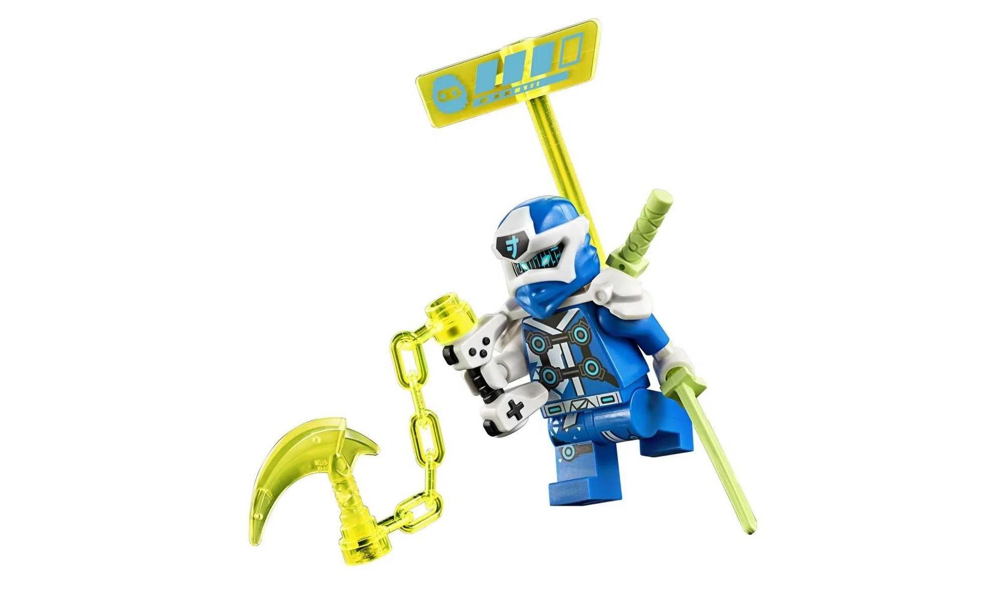 LEGO Ninjago - Os Veículos de Corrida do Jay e do Lloyd 71709