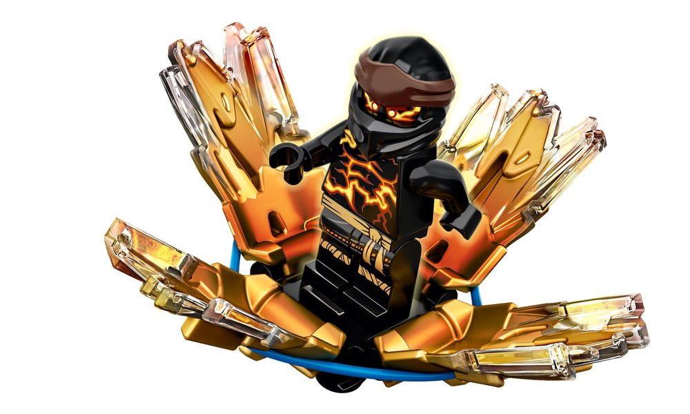 LEGO Ninjago - Rajada de Spinjitzu Cole 70685