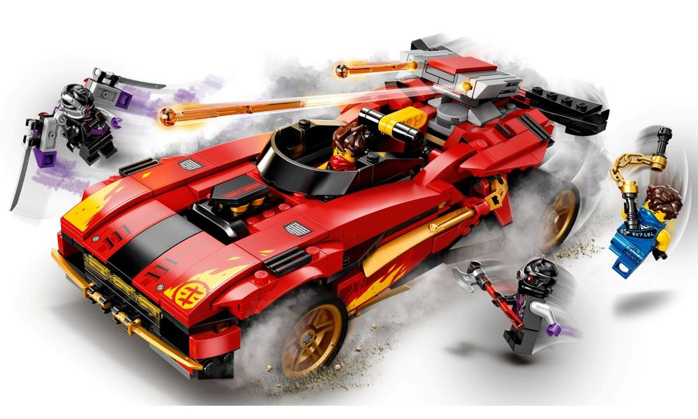 LEGO Ninjago - X-1 Ninja Charger 71737