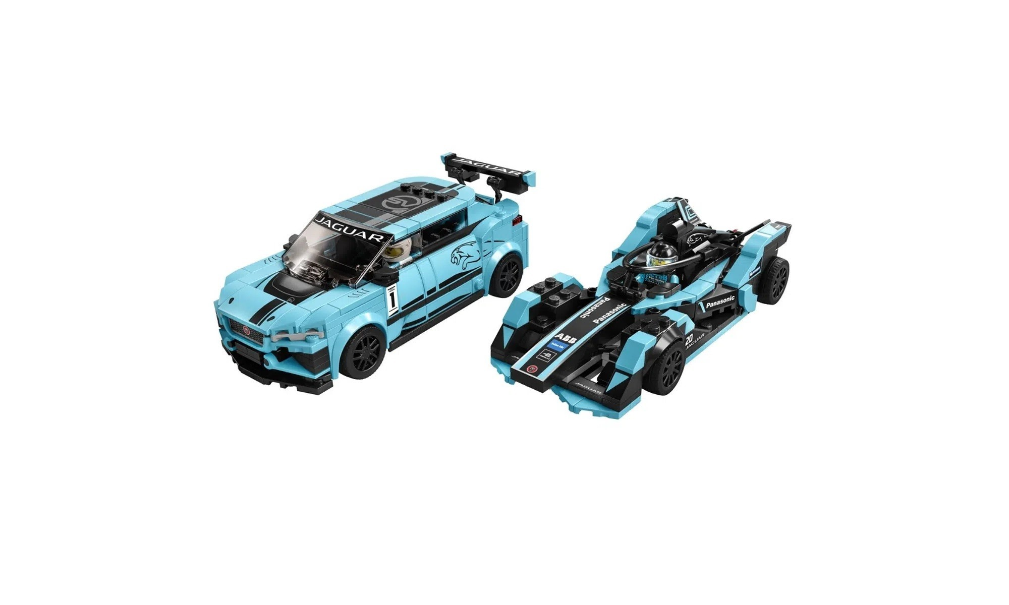 LEGO Speed Champions - Formula E Panasonic Jaguar Racing GEN2 car E Jaguar I-PACE eTROPH