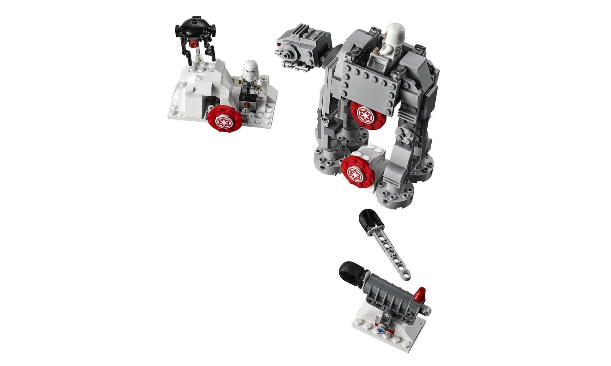 LEGO Star Wars Batalha de Hoth Defesa de base Echo 75241