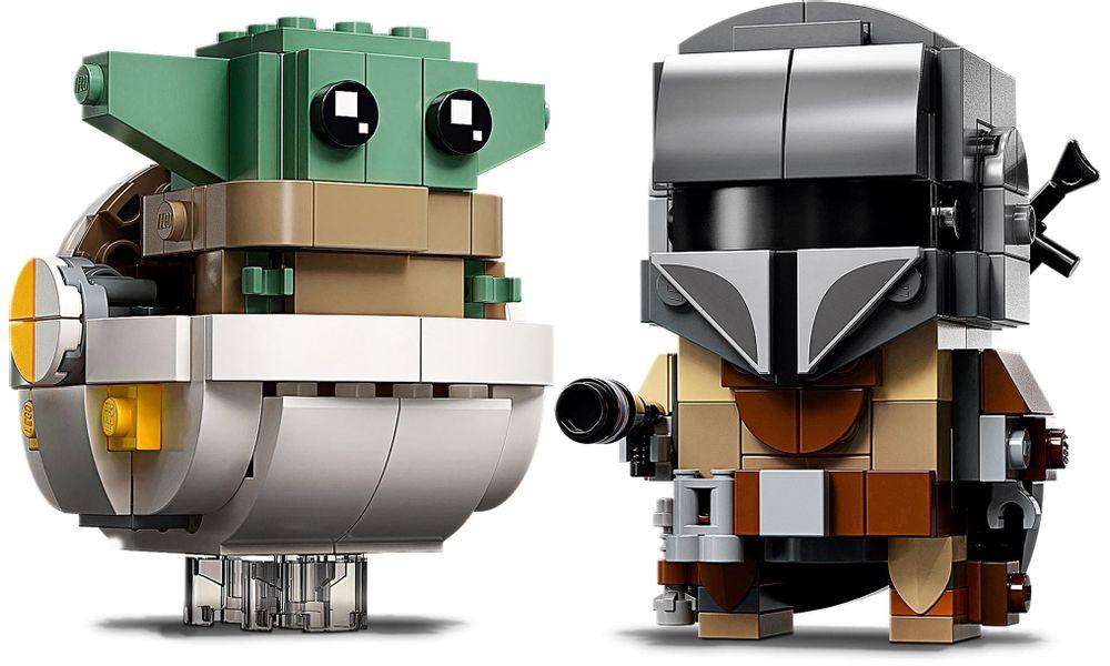 LEGO Star Wars - O Mandaloriano e a Criança 75317