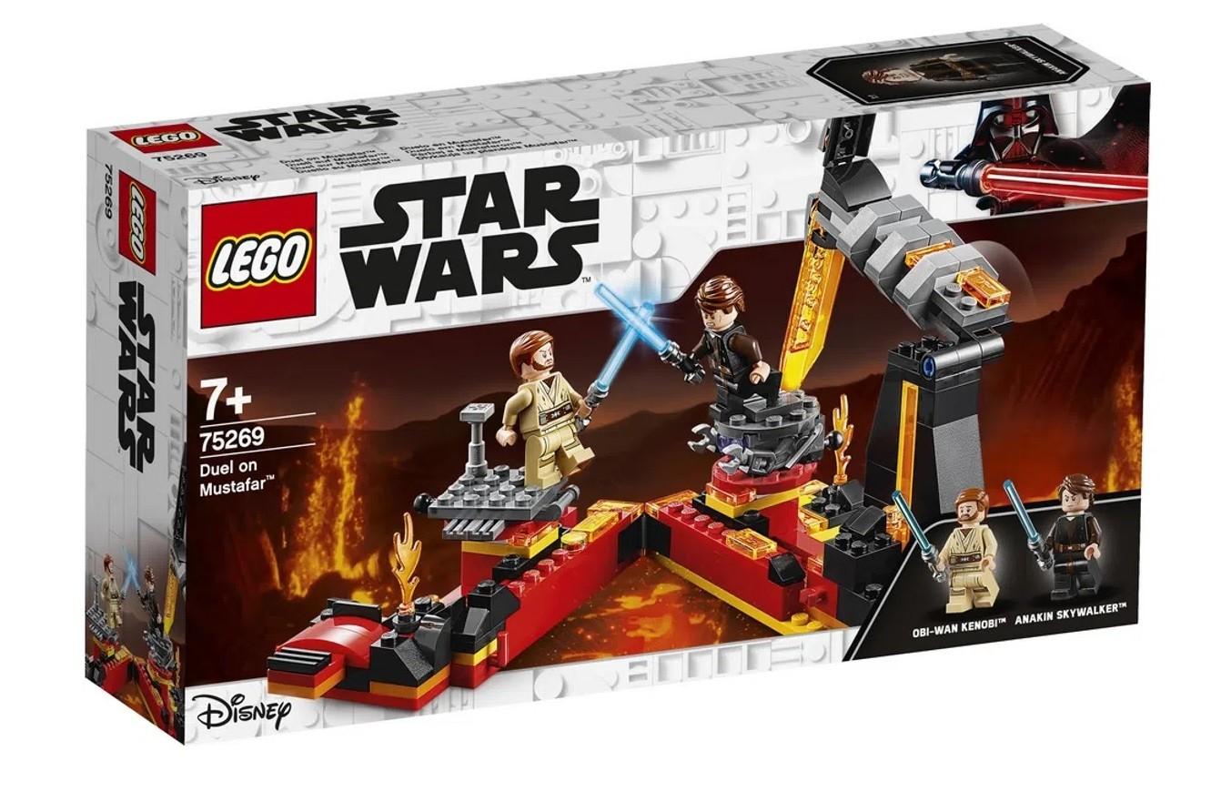 LEGO Star Wars Duelo em Mustafar
