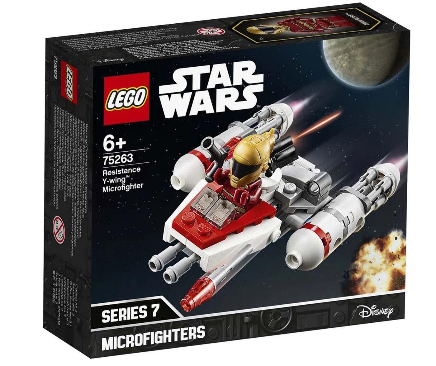 LEGO Star Wars TM - Microfigher Y-Wing da Resistência 75263