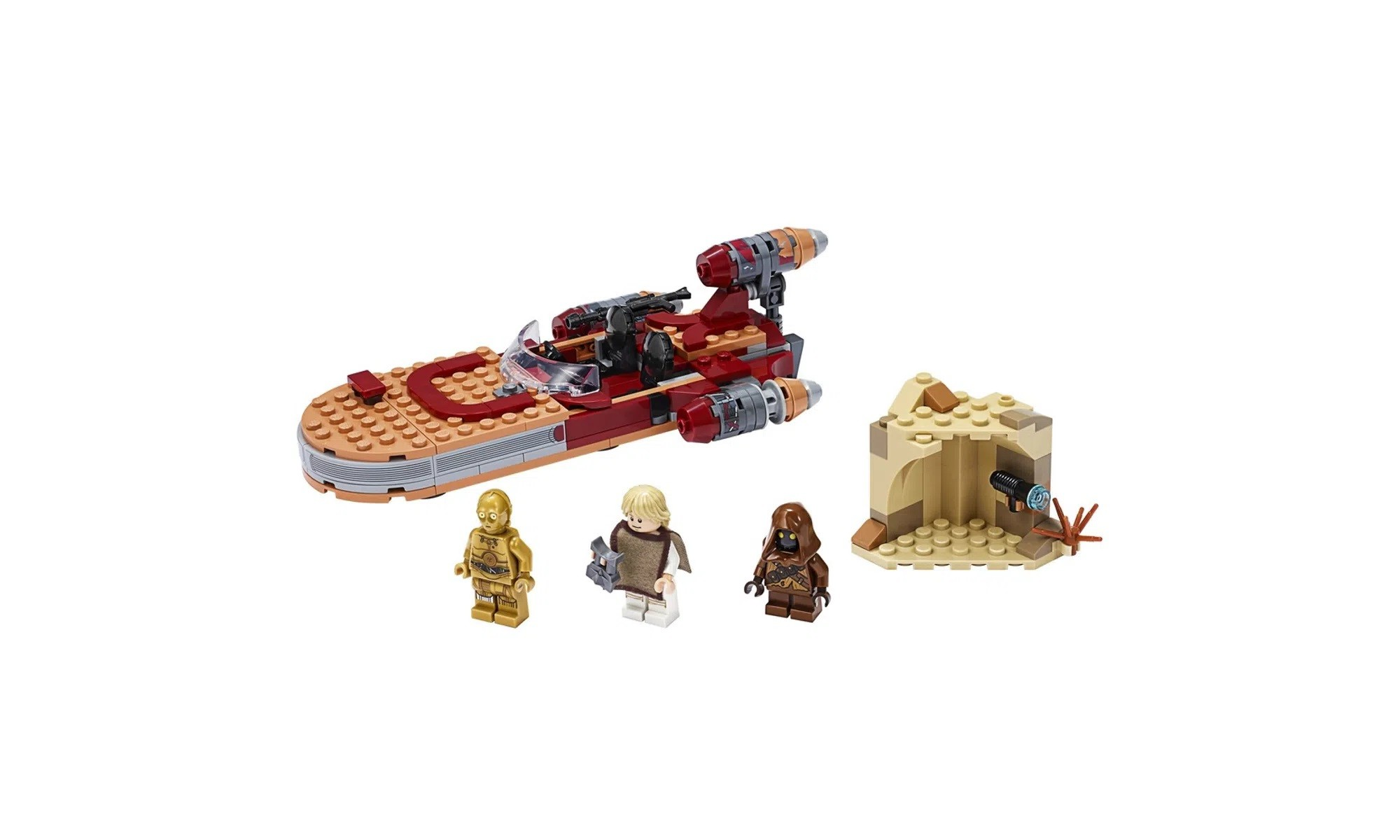 LEGO Star Wars O Landspeeder de Luke Skywalker