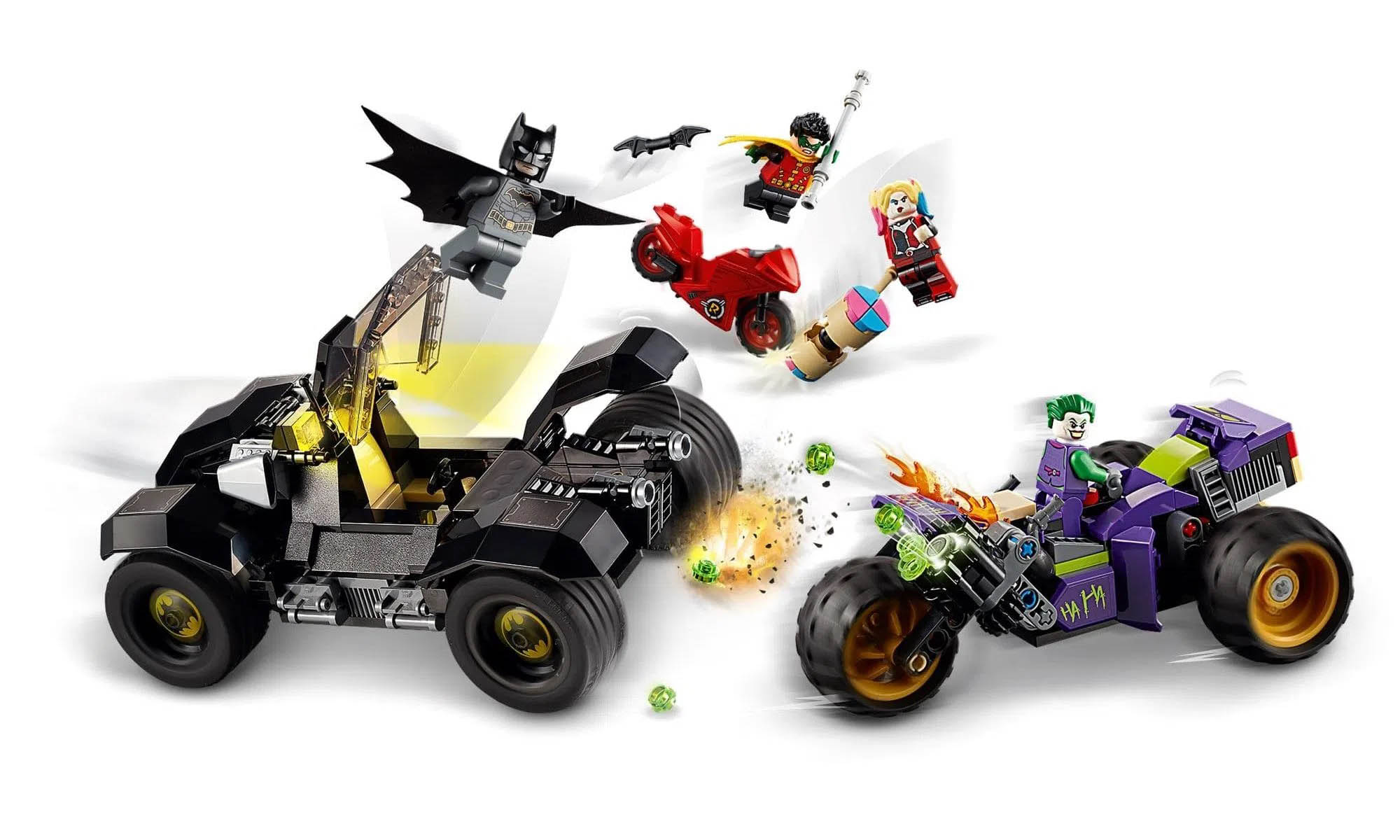 LEGO Super Heroes DC Comics Batmóvel: Perseguição ao Coringa 76159