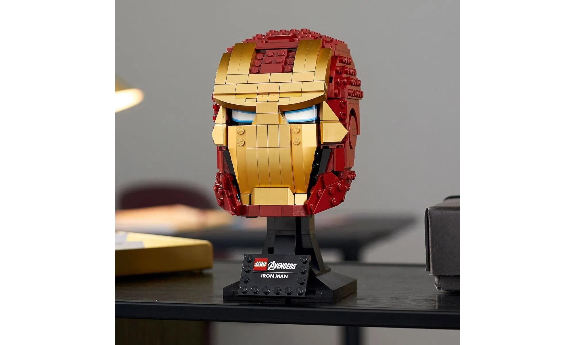 LEGO Super Heroes Marvel Capacete do Homem de Ferro 76165