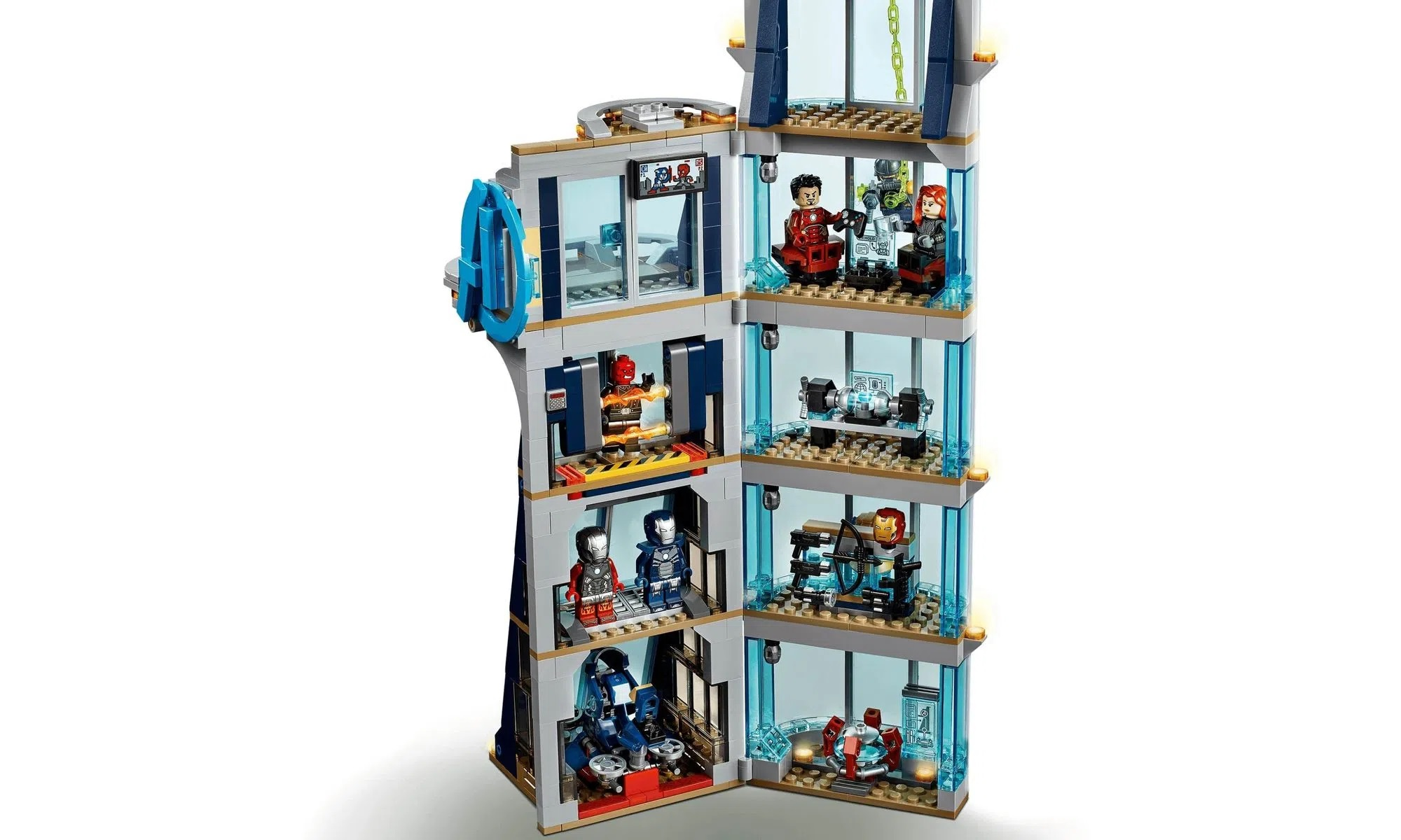 LEGO Super Heroes Marvel Combate na Torre dos Vingadores 76166