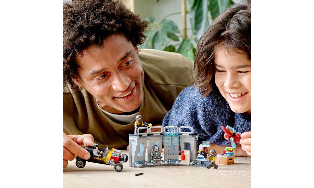 LEGO Super Heroes Marvel - Depósito de Armas do Homem de Ferro 76167