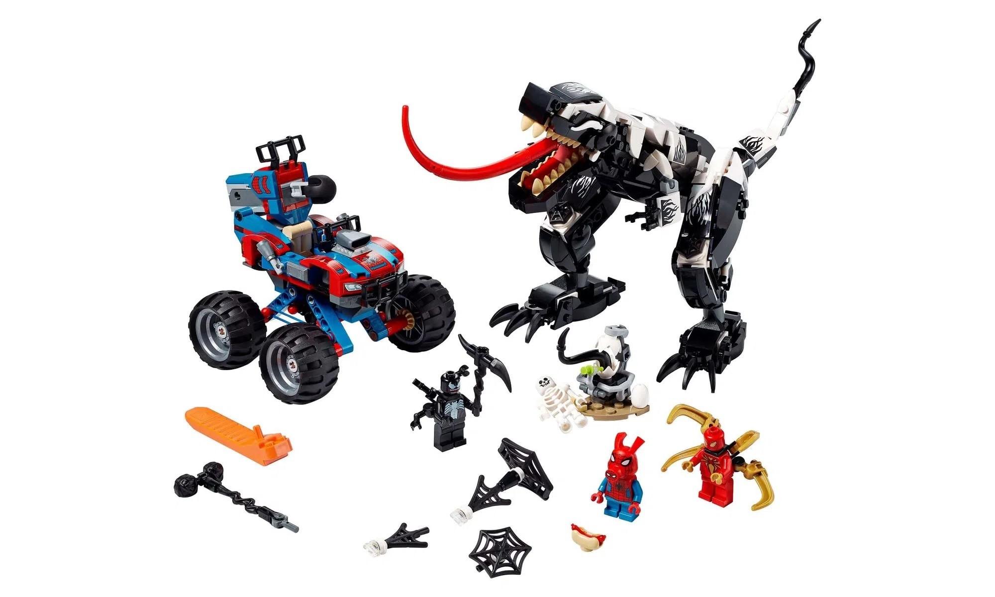 LEGO Super Heroes Marvel - Emboscada a Venomosaurus 76151