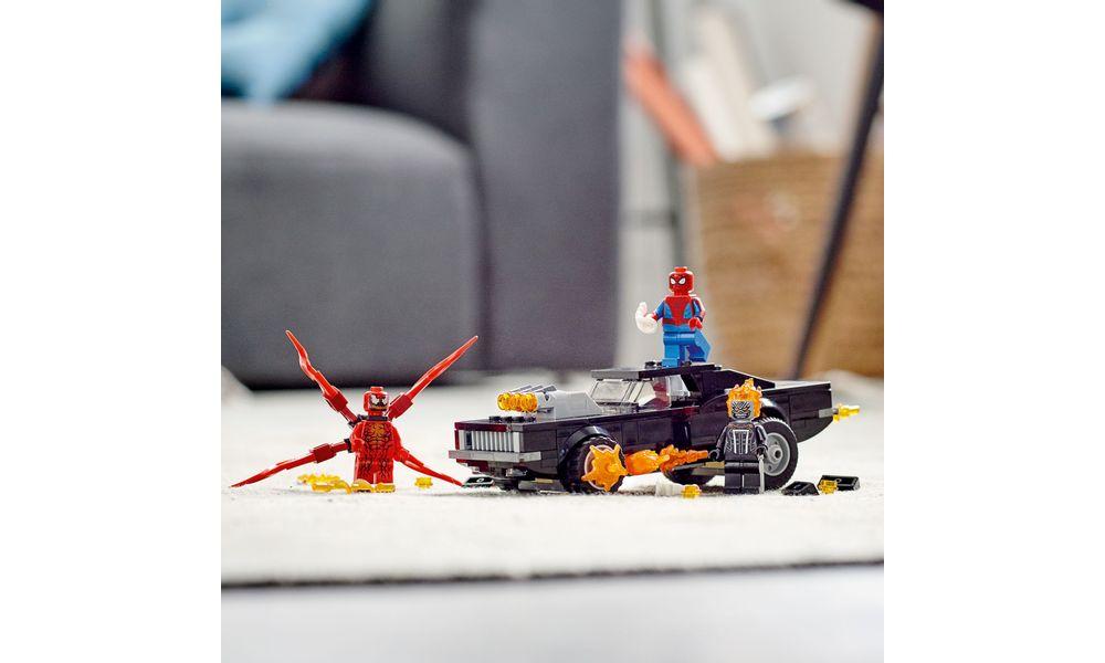LEGO Super Heroes Marvel - Homem Aranha e Motoqueiro Fantasma vs. Carnificina 76173
