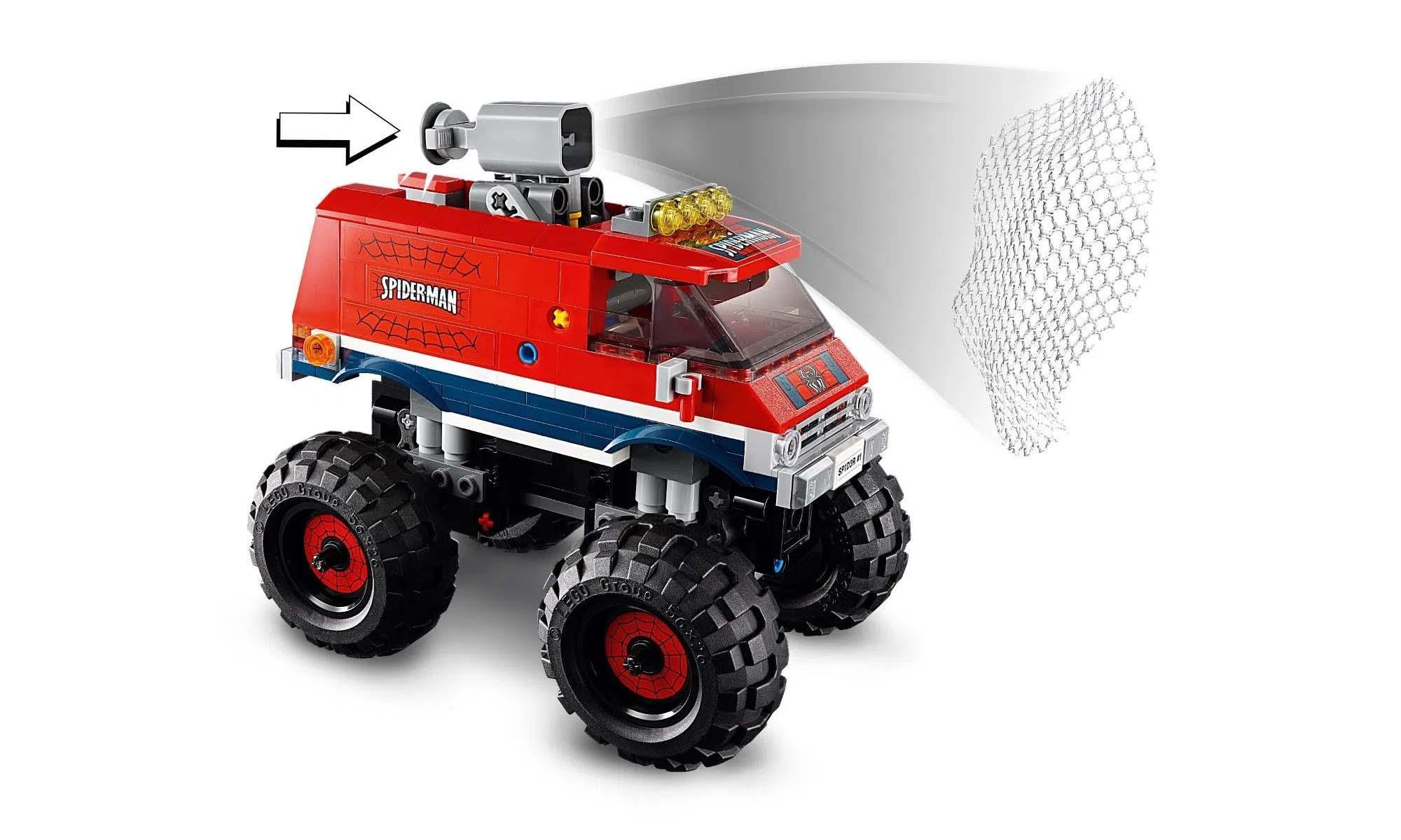 LEGO Super Heroes Marvel O Monster Truck do Homem Aranha vs Mysterio 76174