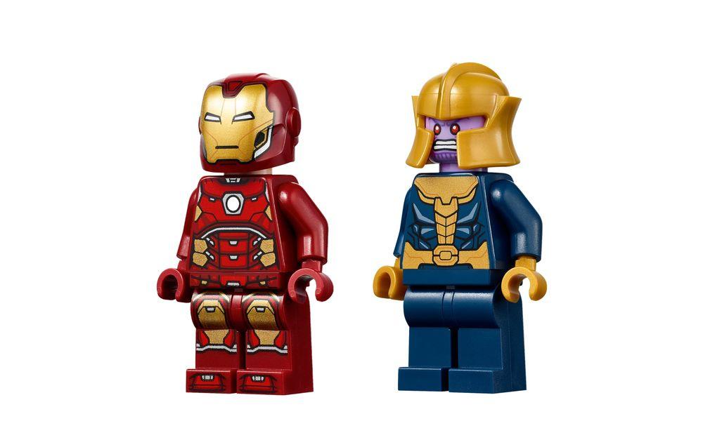 LEGO Super Heroes Marvel - Vingadores: Homem de Ferro contra Thanos 76170
