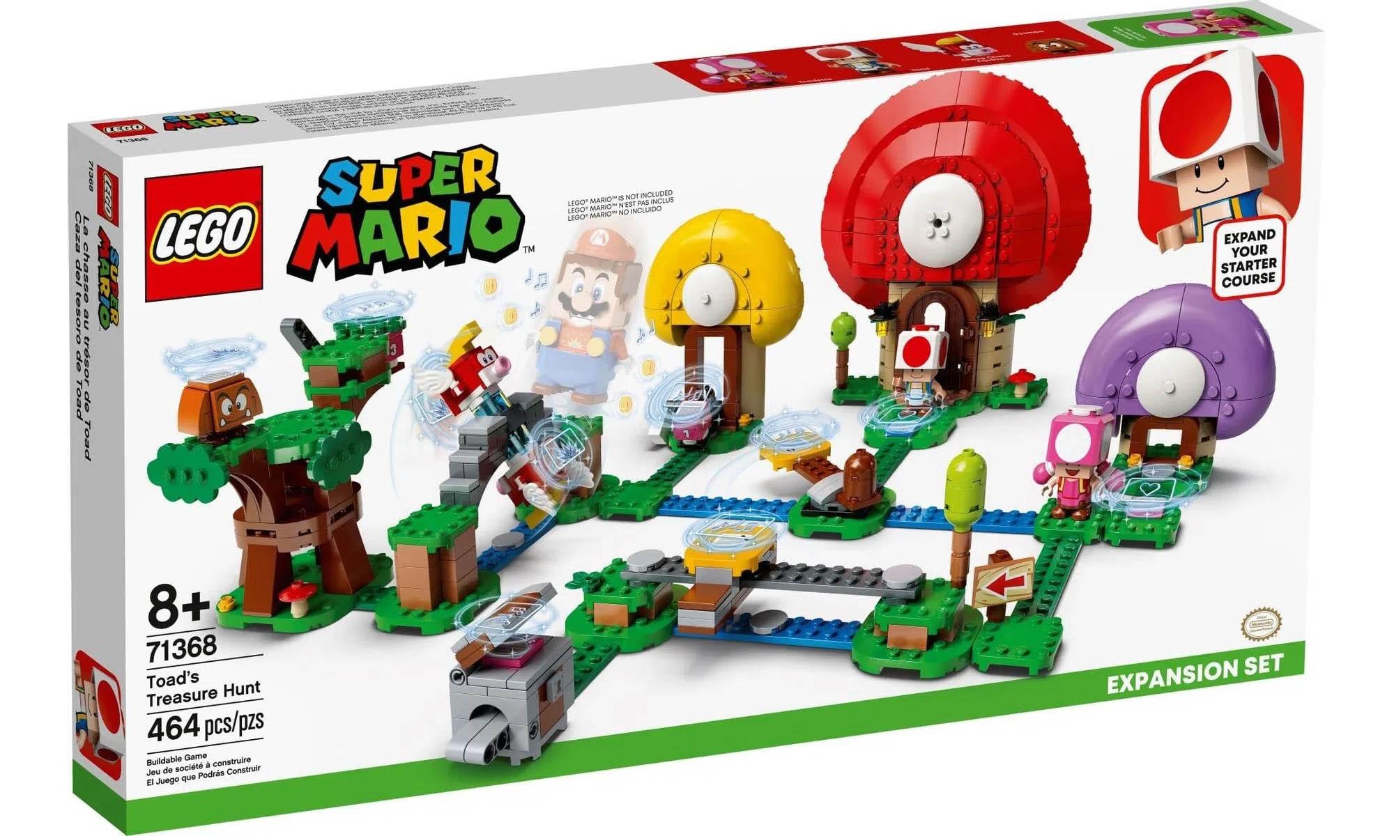 LEGO Super Mario - Caça ao Tesouro de Toad - Pacote de Expansão 71368