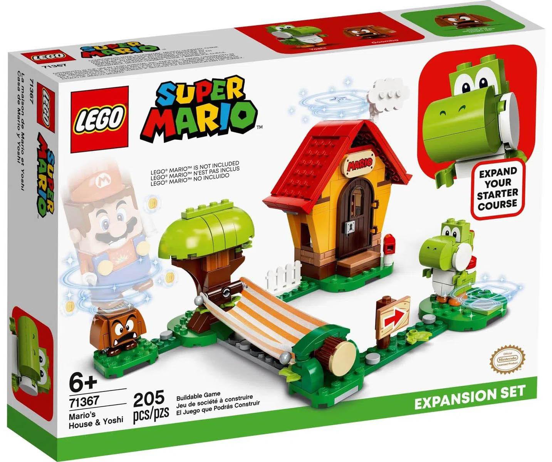 LEGO Super Mario Casa de Mario e Yosh  Pacote de Expansão 71367