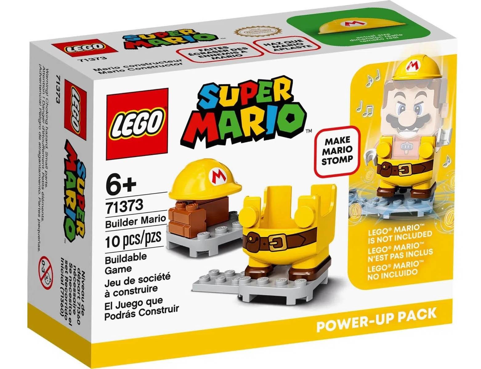 LEGO Super Mario - Mario Construtor - Power Up 71373