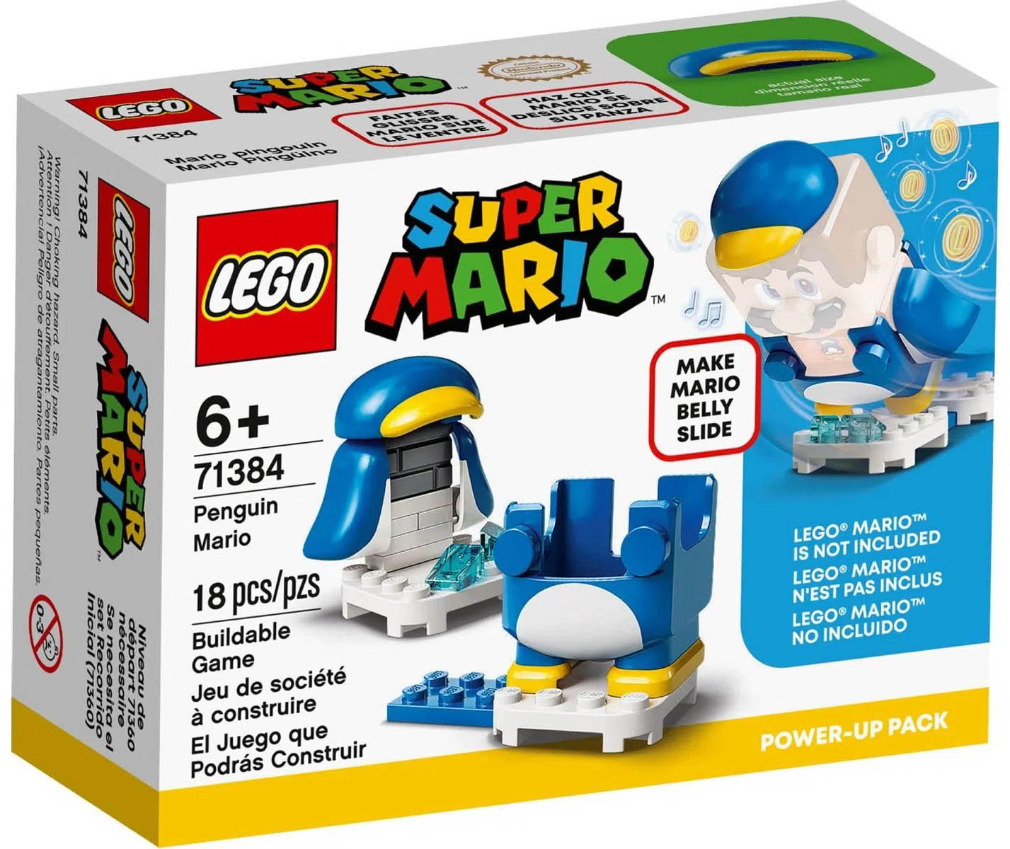 LEGO Super Mario Pinguim Power Up 71384