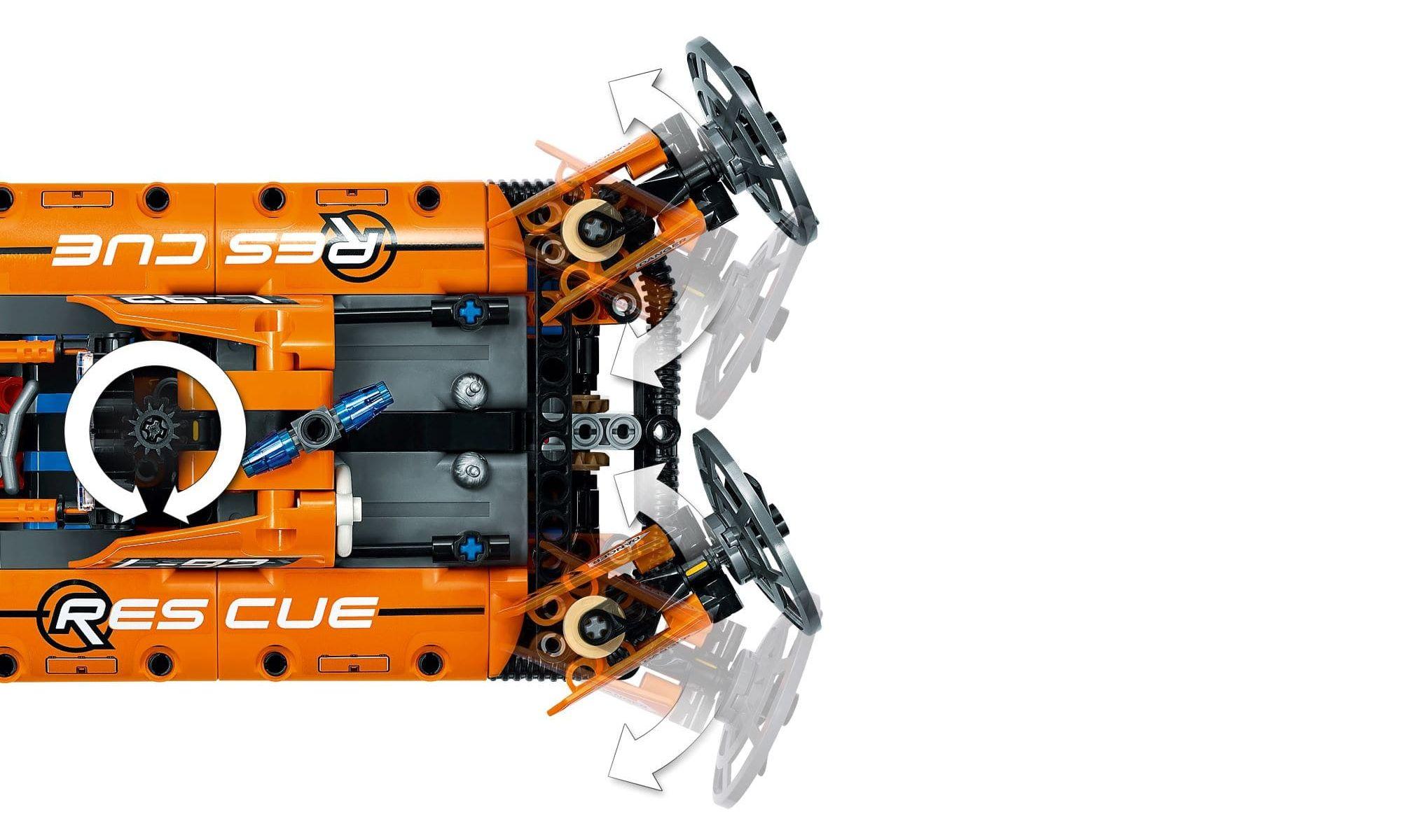 LEGO Technic 2 Em 1 - Hovercraft de Resgate 42120