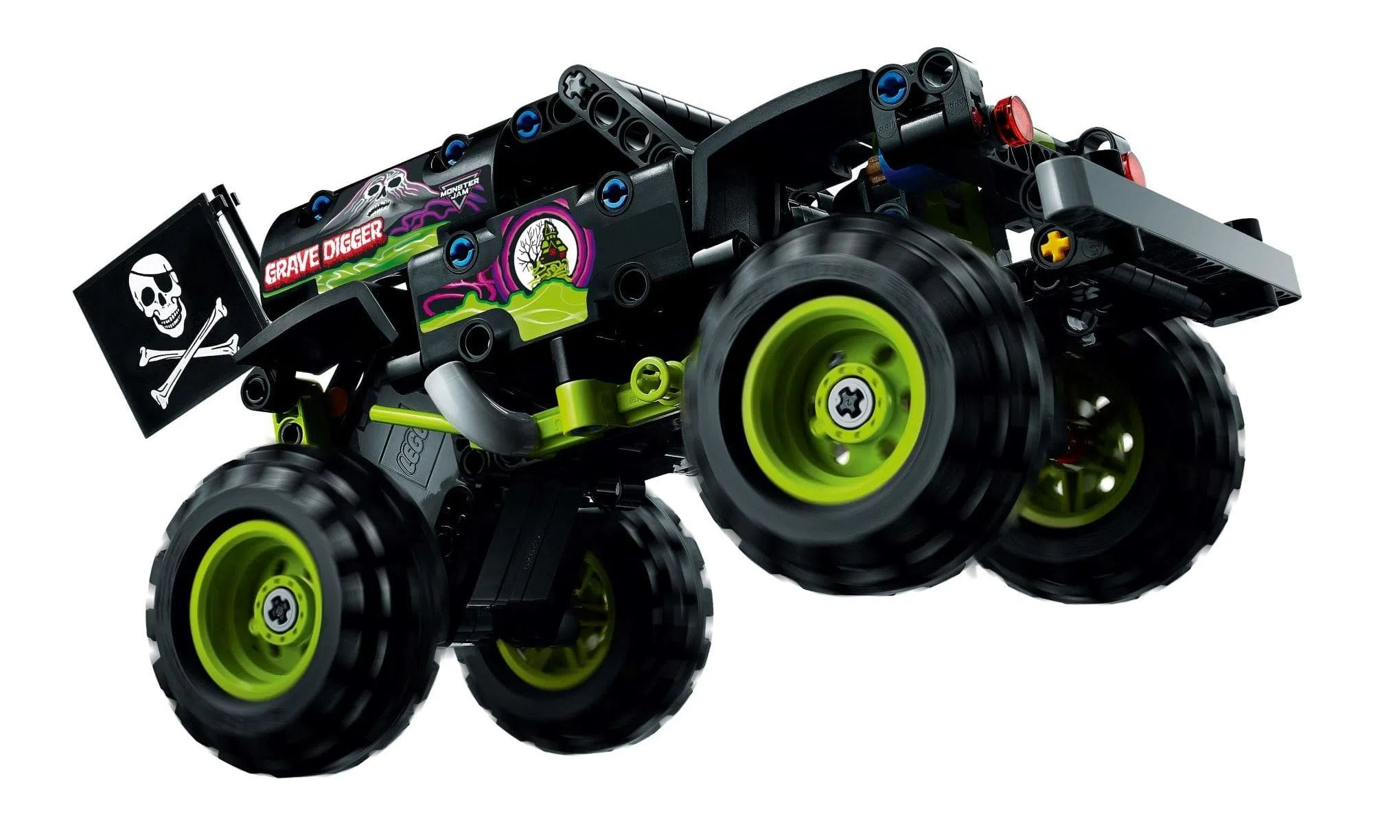 LEGO Technic 2 Em 1 - Monster Jam® Grave Digger® 42118
