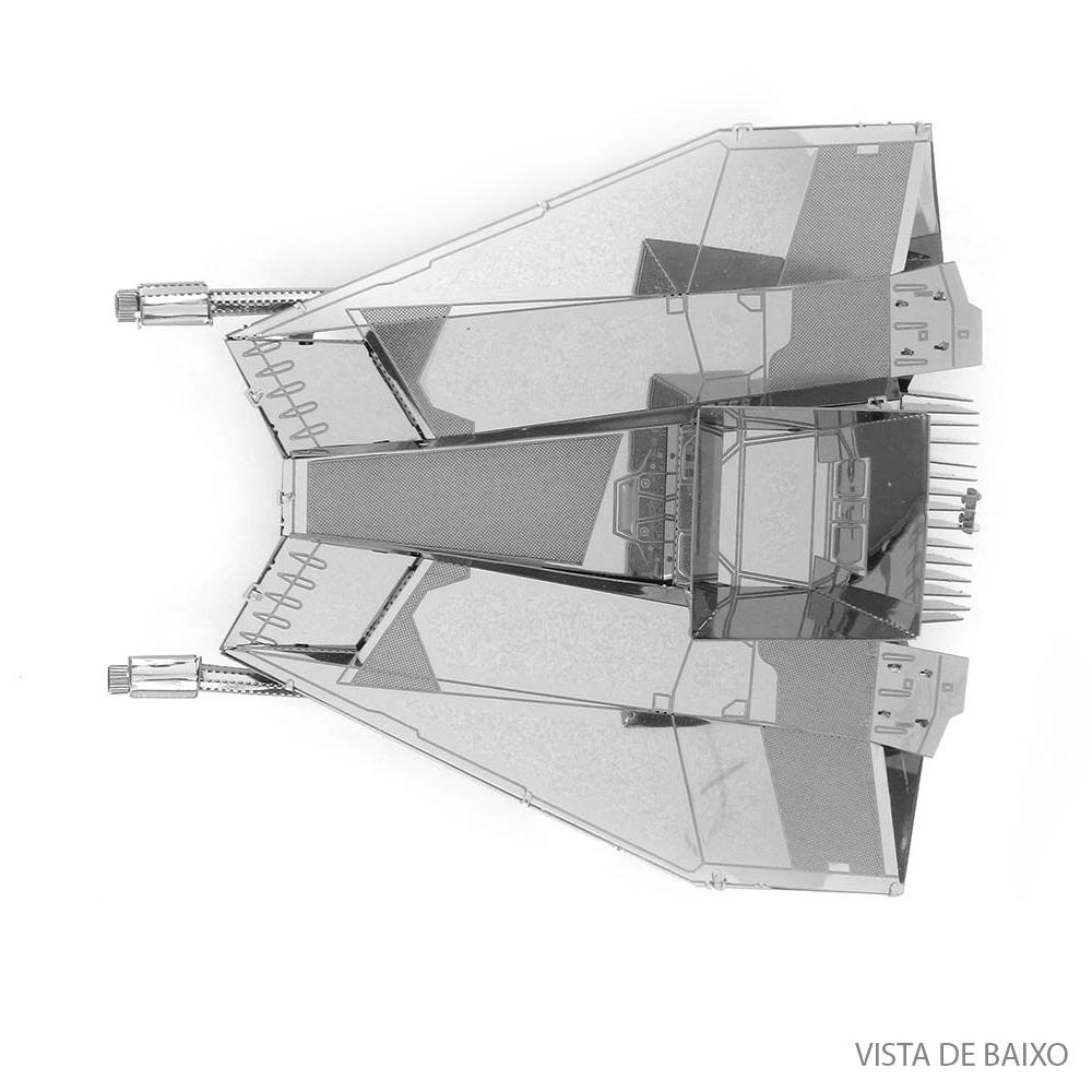 Mini Réplica de Montar Metal Earth - Star Wars Snowspeeder