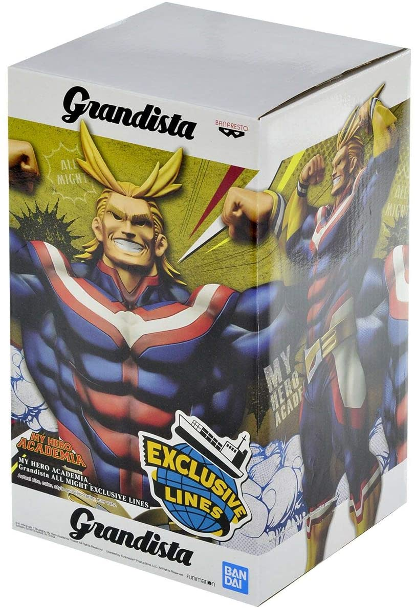 MY HERO ACADEMIA GRANDISTA ALL MIGHT EXCLUSIVE LINES