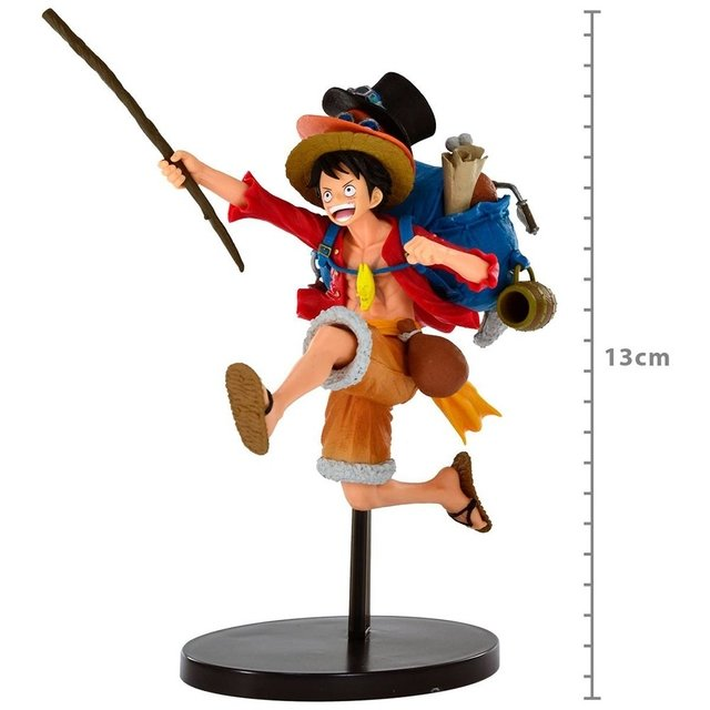 ONE PIECE MONKEY D. LUFFY THREE BROTHERS SPECIAL DESIGN